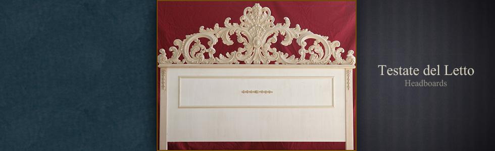 Toscana forever produzione e vendita cornici artigianali in legno specchiere classiche - Testate del letto ...