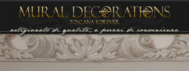 Toscana forever mural paintings trompe l 39 oeil wall decorations old house and villas in tuscany - Decori per muri interni ...
