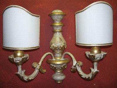 Toscana forever realizzazione e vendita di appliques - Applique da parete classiche ...