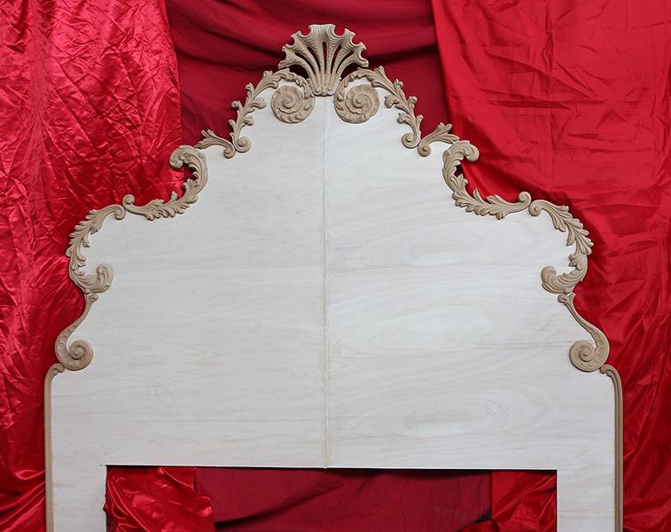 Testate letto in legno antiche decora la tua vita - Testate di letto imbottite ...