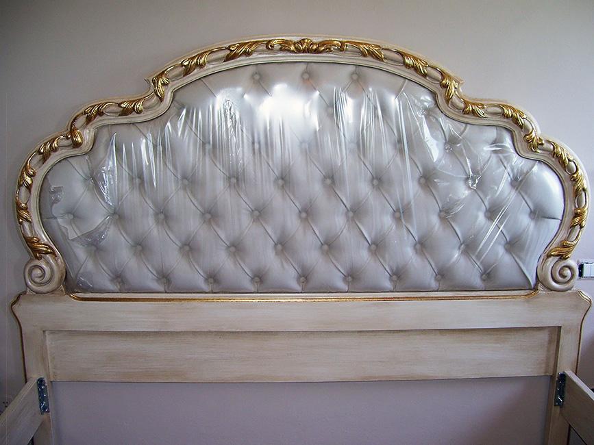 Testate letto in legno antiche decora la tua vita - Testate per letto ...