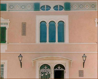 Toscana forever decorazioni pittoriche murali trompe l for Interni ville antiche