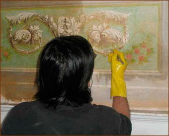 Pin realizza decorazioni murali per interni ed esterni trompe l oeil on pinterest - Dipinti murali per interni ...